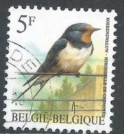 Belgium 1992. Scott #1438 (U) Hirondelle De Cheminée, Bird * - Belgique