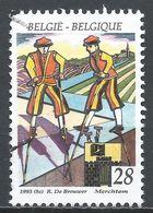 Belgium 1993. Scott #1493 (U) Folklore, Stilt Walkers Of Merchtem * - Belgique