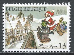 Belgium 1994. Scott #1568 (M) Christmas * - Belgique