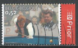 Belgium 2006. Scott #2145e (U) International Billiards Champions From Belgium, Ludo Dielis * - Belgique
