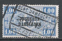 Belgium 1923. Scott #Q150 (U) Raiway Ticket * - Chemins De Fer