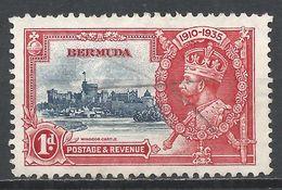 Bermuda 1935. Scott #100 (U) Silver Jubilee King George V * - Bermudes