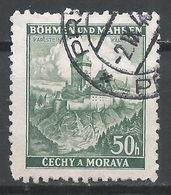 Bohemia & Moravia 1939. Scott #28 (U) Karlstein Castle * - Bohême & Moravie