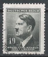 Bohemia & Moravia 1942. Scott #62 (U) Adolf Hitler * - Bohême & Moravie