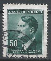 Bohemia & Moravia 1942. Scott #65 (U) Adolf Hitler * - Bohême & Moravie