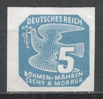 Bohemia & Moravia 1943. Scott #P12 (M) Carrier Pigeon * - Neufs