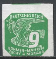 Bohemia & Moravia 1943. Scott #P14 (M) Carrier Pigeon * - Neufs
