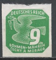 Bohemia & Moravia 1943. Scott #P14 (M) Carrier Pigeon * - Bohême & Moravie