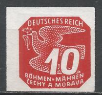 Bohemia & Moravia 1943. Scott #P15 (M) Carrier Pigeon * - Bohême & Moravie