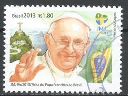 Brazil 2013. Scott #3250 (U) Pope Francis * - Brésil