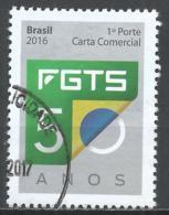 Brazil 2016. Scott #3341 (U) Employee's Severence Indemnity Fund * - Brésil