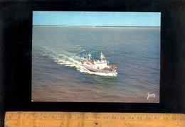 SAINT GILLES CROIX DE VIE ILE D'YEU  Bateau AUGUSTE DURAND Ferry Sea Ship Paquebot Boat Maritime Vessel Schiff - Ile D'Yeu