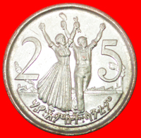 # CANADA: ETHIOPIA ★ 25 CENTS 1996 (2004) MINT LUSTER! LOW START ★ NO RESERVE! - Ethiopie