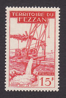 Fezzan, Scott #2N20, Mint Never Hinged, Well Drilling, Issued 1951 - Fezzan (1943-1951)