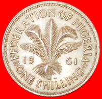 # GREAT BRITAIN: NIGERIA ★ 1 SHILLING 1961! LOW START ★ NO RESERVE! - Nigeria