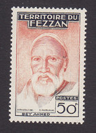 Fezzan, Scott #2N23, Mint Hinged, Ahmed Bey, Issued 1951 - Unused Stamps