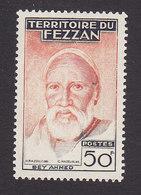 Fezzan, Scott #2N23, Mint Hinged, Ahmed Bey, Issued 1951 - Fezzan (1943-1951)