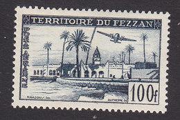 Fezzan, Scott #2NC3, Mint Hinged, Oasis, Issued 1951 - Fezzan (1943-1951)