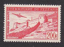 Fezzan, Scott #2NC4, Mint Hinged, Murzuch, Issued 1951 - Fezzan (1943-1951)