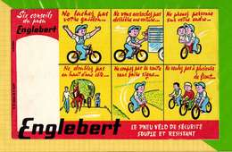 BUVARD & Blotting Paper : ENGLEBERT  Le Pneu Velo De Securité - Bikes & Mopeds