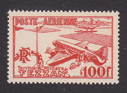 Fezzan, Scott #2NC1, Mint Never Hinged, Airport In Fezzan, Issued 1948 - Unused Stamps