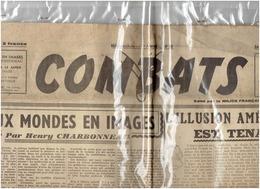 COMBATS édité Par Le Milice ( DARNAND) Du 18 Décembre 1943 L'illusion Américaine Est Tenace - Journaux - Quotidiens