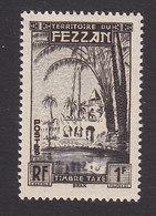 Fezzan, Scott #2NJ1, Mint Never Hinged, Oasis Of Brak, Issued 1950 - Unused Stamps