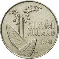 Monnaie, Finlande, 10 Pennia, 1991, TTB, Copper-nickel, KM:65 - Finlande