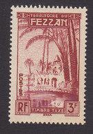 Fezzan, Scott #2NJ3, Mint Never Hinged, Oasis Of Brak, Issued 1950 - Unused Stamps