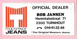 Sticker - Bob Jansen - Herentalsstraat Turnhout - Autocollants