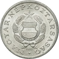 Monnaie, Hongrie, Forint, 1989, Budapest, TTB+, Aluminium, KM:575 - Hongrie