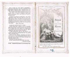 Canivet Dentelle  Souhaits De Bonne Et Sainte Année De St Francois De Sales - Images Religieuses