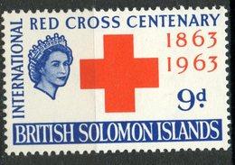 British Solomon Islands 1963 9p Red Cross Issue #111   MNH - British Solomon Islands (...-1978)