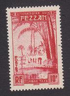 Fezzan, Scott #2NJ5, Mint Never Hinged, Oasis Of Brak, Issued 1950 - Unused Stamps