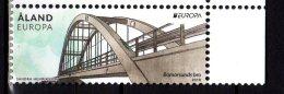 2018 Aaland - Europa CEPT - Bridges 1 V - MNH** MiNr. 454  (rg) - Brücken