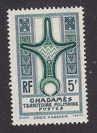 Fezzan, Scott #3N2, Mint Hinged, Cross Of Agadem, Issued 1949 - Unused Stamps
