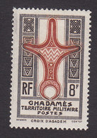 Fezzan, Scott #3N3, Mint Hinged, Cross Of Agadem, Issued 1949 - Unused Stamps