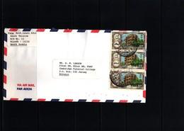 Saudi Arabia Interesting Airmail Letter - Saudi-Arabien
