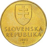 Monnaie, Slovaquie, 10 Koruna, 2003, TTB+, Aluminum-Bronze, KM:11 - Slovaquie