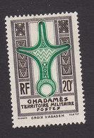 Fezzan, Scott #3N7, Mint Hinged, Cross Of Agadem, Issued 1949 - Unused Stamps