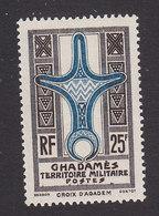 Fezzan, Scott #3N8, Mint Hinged, Cross Of Agadem, Issued 1949 - Unused Stamps