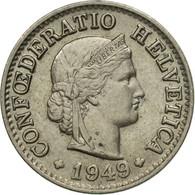 Monnaie, Suisse, 5 Rappen, 1949, 1949, TTB - Suisse