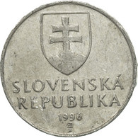 Monnaie, Slovaquie, 10 Halierov, 1996, TTB, Aluminium, KM:17 - Slovaquie