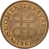 Monnaie, Finlande, 5 Pennia, 1967, TTB, Cuivre, KM:45 - Finlande