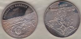Medaille BATAILLE DU BARRAGE 1957 - ALGER - ORAN - CONSTANTINE - SAHARA - France
