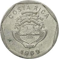 Monnaie, Costa Rica, 5 Colones, 1989, TTB, Stainless Steel, KM:214.1 - Costa Rica
