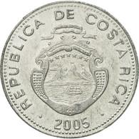 Monnaie, Costa Rica, 10 Colones, 2005, TTB+, Aluminium, KM:228b - Costa Rica