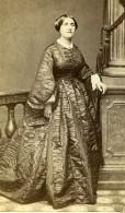 France Paris Femme Mode Second Empire Ancienne Photo CDV Bousseton & Appert 1860' - Photographs