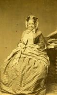 France Paris Femme Mode Second Empire Ancienne Photo CDV Petit Et Trinquart 1860' - Photographs