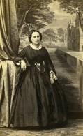 France Paris Femme Mode Second Empire Ancienne Photo CDV Bodinier 1860' - Photographs
